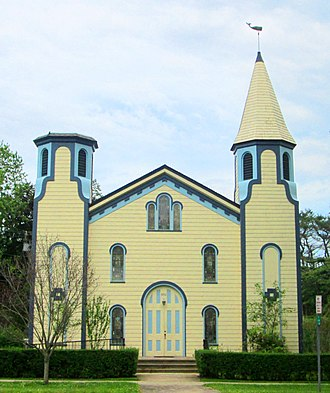Amagansett, New York - The First Presbyterian Church was founded in 1860