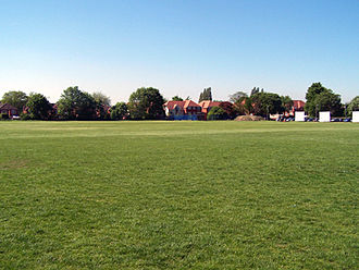 William Hulme's Grammar School - The first XI cricket pitch