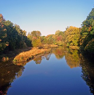 Fishkill Creek Tributary of the Hudson River in southern Dutchess County, New York