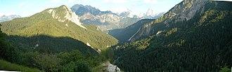 Boite (river) - Panorama