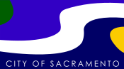 Flag of Sacramento, California.svg