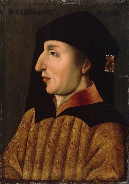 Flemish School - Lille - Philip II, Duke of Burgundy