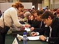 Flickr - Convergència Democràtica de Catalunya - Oriol Pujol i Ramon Espadaler a la Marato de TV3 general.jpg