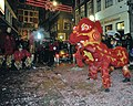 Flickr - NewsPhoto! - Traditionele leeuwendans in Chinatown (1).jpg