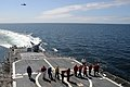 Flickr - Official U.S. Navy Imagery - Sailors aboard USS Normandy perform a foreign object debris walk down while participating in Exercise Baltic Operations 2012..jpg