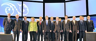 European People's Party - At its Congress in Warsaw in 2009 the EPP endorsed Barroso for a second term as President of the Commission.
