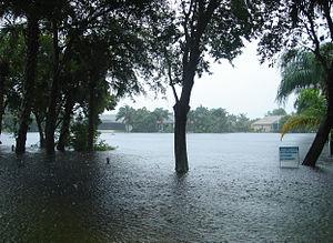 Tropical Storm Fay (2008) - Flooding on Merritt Island, Florida during Tropical Storm Fay