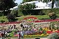 Floral Clock, Shrewsbury Flower Show - geograph.org.uk - 2109917.jpg