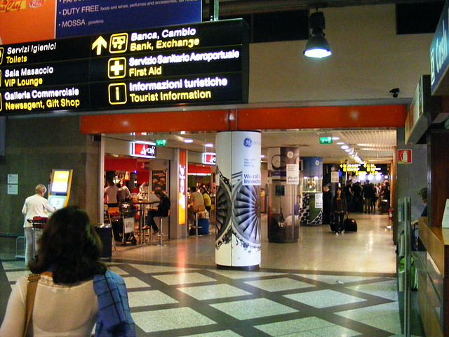 Florence - Peretola Airport, ground floor