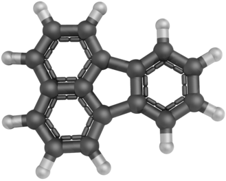 Fluoranthene - Image: Fluoranthene 3D