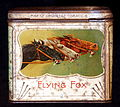 Flying Fox sigarettes tin, back.JPG