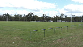 Greenbank, Queensland - Football field, Greenbank, 2014