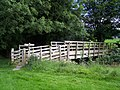 Footbridge over the river Dee - geograph.org.uk - 904300.jpg