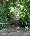 Footpath - Upper Brow Road, Paddock - geograph.org.uk - 921707.jpg