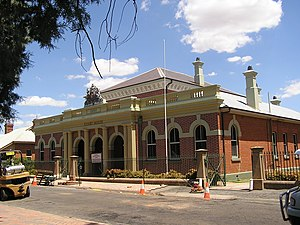 Forbes, New South Wales - Court house built in 1880