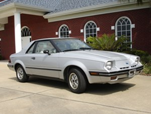 Ford EXP - Image: Ford EXP1982