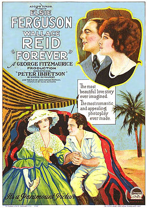 Forever (1921 film) - Thearical poster