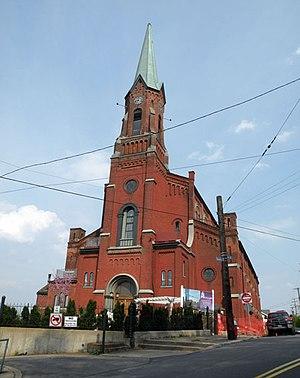 South Side Slopes, Pittsburgh - Image: Former Saint Michaels Roman Catholic Church