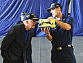 Former President Jimmy Carter looks through a naval firefighting thermal imager..jpg