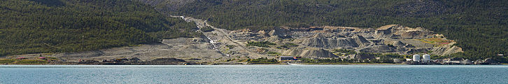 Fornes quarry by Kjosen, Troms, Norway, 2014 August.JPG