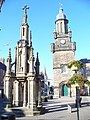 Forres - Mercat Cross and Tolbooth - geograph.org.uk - 884375.jpg