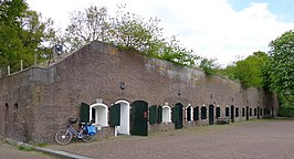 Kazerne in Fort Blauwkapel
