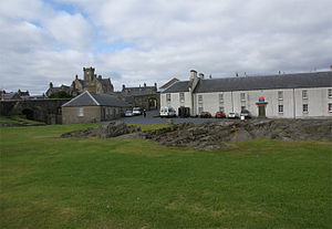 Fort Charlotte, Shetland - Fort Charlotte, Lerwick, Shetland, Scotland - barracks and west gate