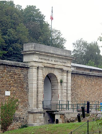 Fort Mont-Valérien - Entrance of the Fort