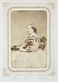 Fotografiporträtt på Fredrika Schlegel, f. Wallis - Hallwylska museet - 107802.tif