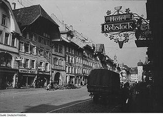 Waldshut-Tiengen - Waldshut in the 1950s