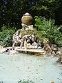 Fountain next to the Hydrochronometer at the Villa Borghese gardens.jpg