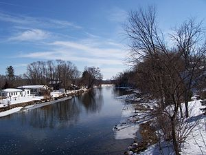Montello, Wisconsin - Image: Fox River Wisconsin Montello East WIS22