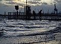 Frühjahrshochwasser an der Weser in Sandstedt.jpg