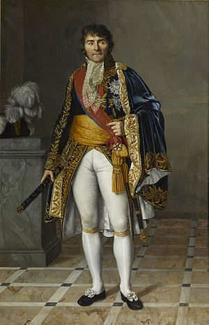 Césarine Davin-Mirvault - François Joseph Lefebvre, Duke of Dantzig, Marshal of France, portrait from 1807, now at the Palace of Versailles