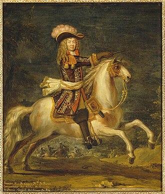 François de Créquy - François de Blanchefort de Créquy, by Joseph Parrocel
