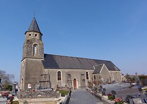La Bazoque, Calvados - The Church of Saint Martin