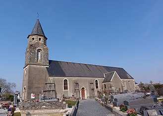 La Bazoque, Calvados - The Church of Saint Martin