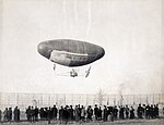 Francois Airship in flight from the Department of Transportation at the 1904 World's Fair.jpg