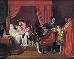 Francois I recoit les derniers soupirs de Leonard de Vinci by IngresFXD.jpg