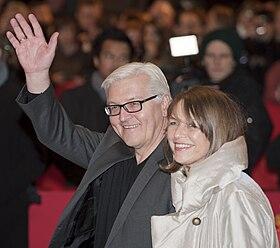 Frank-Walter Steinmeier and Elke Büdenbender (Berlin Film Festival 2011) .jpg