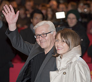 Elke Büdenbender - Frank-Walter Steinmeier and Elke Büdenbender at the Berlin Film Festival 2011