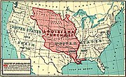 The Louisiana Purchase doubled the size of the United States