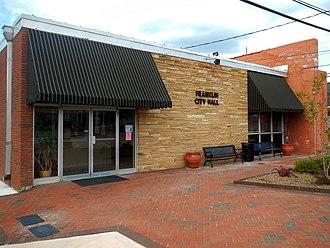Franklin, Georgia - Image: Franklin, Georgia City Hall