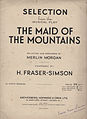 Fraser-Simson, Harold - The Maid of the Mountains (1916).jpg