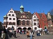 Neues und Altes Rathaus am Rathausplatz