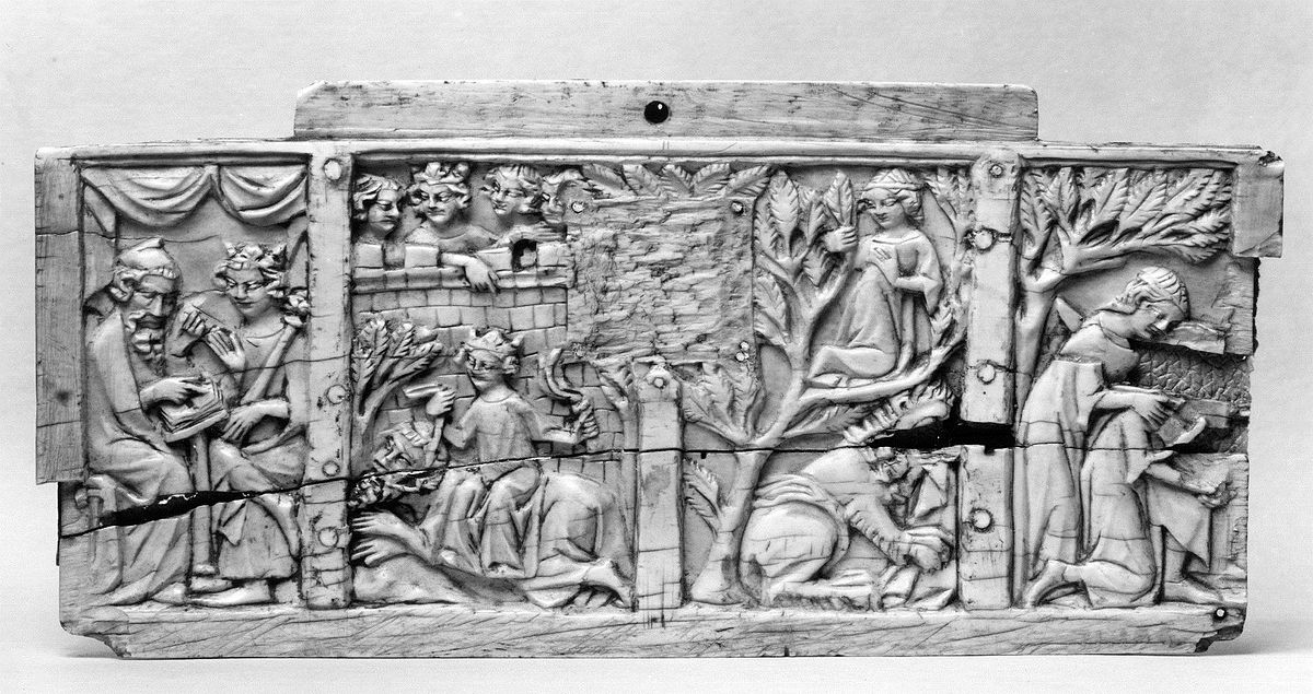 French - Box Front with Scenes of Alexander and Pyramus - Walters 71196.jpg