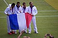 French Silver and Bronze Medallists.jpg