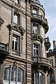 French historism balconies, Place Broglie, Strasbourg.jpg