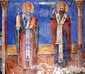 Freska na Sv. Kiril i Metodij od Sv. Petka Bešička.jpg
