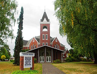 Newberg, Oregon - Newberg Friends Church